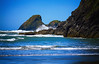 Trinidad State Beach, California (` Toshio ') Tags: toshio trinidadstatebeach trinidad beach rocky coast pacific california america waves sea ocean pacificocean mountain cliff fujixe2 xe2 seagulls birds