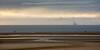 Sunset at Another Place on Crosby Sands (Joe Dunckley) Tags: anotherplace antonygormley britain british crosby crosbysands douglascomplex england english greatbritain irishsea lancashire liverpooldocks merseyside uk unitedkingdom architecture beach building coast dock harbour oilrig powerstation sculpture sea sunset watchtower water windfarm windturbine