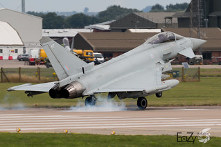 ZK352 Royal Air Force Eurofighter Typhoon FGR.4