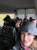 Ice Cave Tour (pr0digie) Tags: iceland ice cave caves tour rain raining storm myvatn liz jasonkafalas katwaddell ericchan shuttle bus tongue