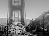 Just another foggy day... (ashpmk) Tags: california californiaphotography californiasky sanfrancisco sanfran sd sf bayarea bay westcoast west us bnw bnwphotography blackandwhite blackwhite traffic travel city cityscape citylife cityview