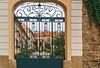 Jakubska Street Gate (fotofrysk) Tags: jakubskastreet gate wroughtiron ornate courtyard stone wall buildings architecture easterneuropetrip kutnahora czechrepublic sigma1750mmf28exdcoxhsm nikond7100 201709236078