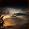 Un soir de décembre (Pi-F) Tags: soir nuit nuage couchant soleil couleur hiver arbre demi ombre chinoise orage contraste ciel provence carré format justclouds