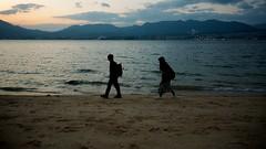 Walk (somazeon) Tags: miyajima sea beach hiroshima panasonic lumix 広島 宮島 日本