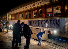 PE-2 (Chip Vincent) Tags: polar express elkins wv westvirginia train conductor