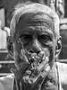 LRb Mumbai 2015-849 (hunbille) Tags: birgittemumbai32015lr india mumbai bombay colaba wtc worldtradecenter world trade center slum smoke smoking cigarette hand ring washing laundry dhobi wallah dhobiwalla walla wala jewelry