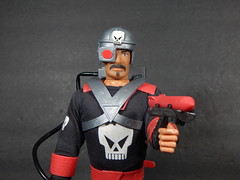 RAPID DEPLOYMENT FORCE (theskullreviews) Tags: skull rdf rapid deployment force 12 action figure gi joe knock off toy