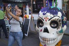 selfie (susan catherine) Tags: guadalajara mexico sony selfie skull dayofthedead