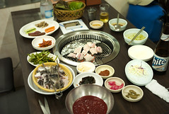 Korean eel dish by mokuu - 韓国 釜山市 / LEICA M8.2 × SUMMILUX-M 35mm F1.4 ASPHERICAL / CP C9 03 103 /