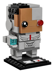 41601 Cyborg (The Brothers Brick) Tags: justice league dc 2017 superheroes brickheadz