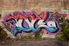 OC (TheGraffitiHunters) Tags: graffiti graff spray paint street art colorful abandoned building bando new jersey nj cement wall oc