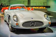 Mercedes Benz 300 SLR Coupe (a7m2) Tags: car museum stuttgart racing mercedesbenz