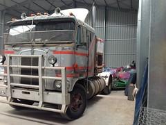 Girdler's Kenworth (RS 1990) Tags: kenworth truck generator amusement ride hauler girdler family amusements daryl australia southaustralia