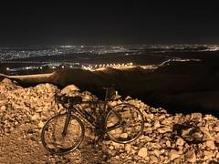 "Halfway up Jebel Hafeet (Patrissimo2017) Tags: ""nightriding"" cycling"