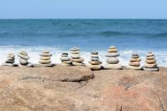 Montauk- The End (LauraJSwindle) Tags: longisland li nikond7100 ny newyork montauk montaukpoint wantagh usa montauktheend waterscapes stones beach beaches montaukstatepark nystatepark waves 85mm