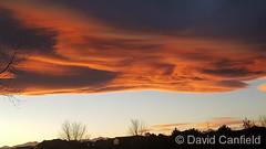 November 19, 2017 - An insane sunet over Thornton.  (David Canfield)