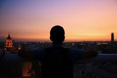 Daydreamin' (Debbananas) Tags: travelphotography canoneos1000d canon city landscape view colorfulsky colorful sky metropolparasol siviglia sevilla spagna spain espana trip travel sunset love