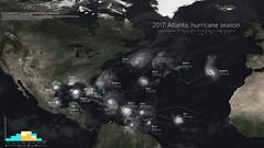2017 Atlantic hurricane season montage (ATXHarrisonTran) Tags: atlantic hurricane season satellite montage weather tropical cyclone storm 2017 arlene bret cindy don emily franklin gert harvey irma jose katia lee maria nate ophelia philippe rina eye eyewall meteorology puerto rico houston