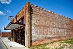 Gooch's Best Macaroni - Ardmore,Oklahoma (Rob Sneed) Tags: architecture vintage wallsign ghostsign brickconstruction goochsbestmacoroni urban urbex smalltown usa oklahoma ardmore 20thcentury advertising americana roadtrip reddirtbrewhouse