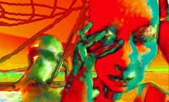 Unobtainable love/ Artist : Theda Tammas (Bamboo Barnes - Artist.Com) Tags: art virtualart thedatammas secondlife digitalart photomanipulation surreal vivid dark metales unobtainablelove light shadow painting texture red green blue bamboobarnes yellow