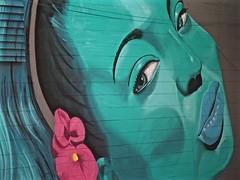 Public Wall Art (Professor Bop) Tags: mural delraybeachflorida artistsalley wall color painting art professorbop drjazz olympusem1 olympusm75mmf18 primelens olympus wallart publicart mosca