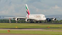 Airbus A380, A6-EOP, Emirates. (PRA Images) Tags: airbus a380 a6eop a6eopmsn200 emirates ek uae manchesterairport man egcc