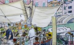 Venise (chando*) Tags: aquarelle croquis sketch watercolor