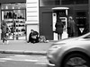 Le Crédit Lyonnais (Franco & Lia) Tags: paris parigi street fotografiadistrada photographiederue juxtaposition contrasto biancoenero noiretblanc blackandwhite stphotographia