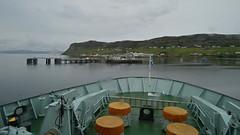 It's Scotland - So it's Raining. (Harleynik Rides Again.) Tags: uig isleofskye calmac ferry hebrides rain weather scotland ship boat pier jetty sea harleynikridesagain