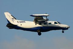 C-GGDC (Thunder Airlines) (Steelhead 2010) Tags: thunderairlines mitsubishi mu2 yyz creg cggdc