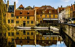 Bruges. (ost_jean) Tags: brugge bruges nikon d5200 350 mm f18 ostjean reflections weerspiegeling reflectie