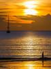 Sunset with yachts, Nai Harn beach, Phuket island, Thailand (forum.linvoyage.com) Tags: yacht sunset catamaran paddle paddleboard beach sea ocean naiharn phuket island thailand silhouette modern water sky cloud people color boat