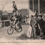 Das Buch für Alle ,Illustrierte familien Zeitung 1900 , ill Berlin Friedenau Radfahrbahn thumbnail