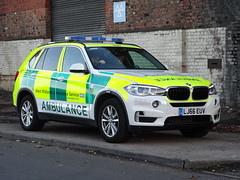 West Midlands Ambulance Service Incident Officers BMW X5 Rapid Response Vehicle LJ66 EUV (5187), Birmingham. (Vinnyman1) Tags: west midlands ambulance service incident officers rapid response vehicle bmw x5 5187 lj66 euv wmas services nhs national health foundation trust heart of england emergency rescue 999 birmingham uk united kingdom gb great britain city bcfc aston villa football club second derby blues villains saint st andrews zulu warriors steamers ccrew c crew youth hardcore