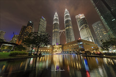 KLCC Park, December 2017 (Nur Ismail Photography) Tags: arab architecture asia building business city cityscape colorful colors downtown dubai east emirates evening fountain futuristic illuminated kl klcc kualalumpur landmark landscape light modern night office park petronas scene sky skyline skyscraper street tall tower travel twin urban view water