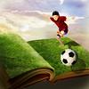 Sports day (jaci XIII) Tags: menino criança bola esporte livro fantasia boy child ball sport book fantasy