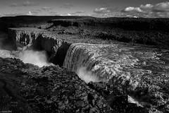 P r o m e t h e u s - Dettifoss / Iceland (Toine B.) Tags: dettifoss waterfall chute deau cascade noiretblanc noirblanc blackandwhite bnw paysage landscape nikon d750 tamronsp2470mmf28divcusd tamron2470 earth water