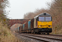 Logs Slog (Richie B.) Tags: colas rail brush traction mirrlees procor class 60 60002 cumwhinton 6j37 settle and carlisle railway cumbria
