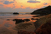 GOLDEN HOUR (GOPAN G. NAIR [ GOPS Photography ]) Tags: gopsorg gops gopsphotography gopangnair gopan photography golden hour sunset gokarna sea shore beach india ocean
