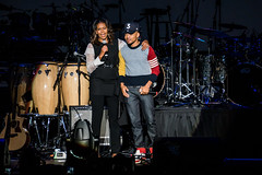 Michelle Obama and Chance the Rapper (Joshua Mellin) Tags: obama presidentobama barack barackobama presidentbarackobama obamafoundation obamasummit chicago 2017 summit michelleobama joshuamellin photographer writer reporter photo pic october november fall autumn foundation library obamalibrary presidentiallibrary obamapresidentiallibrary event talks video pictures cameras community concert communityconcert wintrustarena chancetherapper chancelorbennett chancelor bennett age networth chitown president presidential politics music live photos pics 3 chance grammy grammys flotus firstlady obamas michelle obamaorg website stream