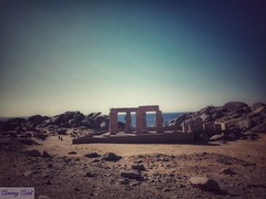 28 (amanyadel9212) Tags: lanscape blue sky mountain nature new mobile photography temple nasser lake nile sand sun morning nubian monument travel stories land aswan cities egypt
