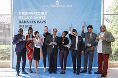 Les 9 lauréats 2017 de l'Observatoire de la e-Santé dans les pays du Sud de la Fondation Pierre Fabre - Credit Lydie Lecarpentier