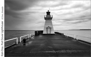 Rainy Day, Port Dover Lighthouse