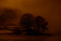 Lake District (mynameisblank!) Tags: lakedistrict fire uk nature mist morning sunrise lake water clouds nikon nikond300s f28 70200 orange layers nikond3oos travel alwaysmoving lightroom editedinlightroom manfrotto manfrottotripod manfrottobefree outside outdoors