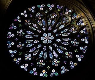 Rosassa del Monestir de Sant Cugat, Barcelona.