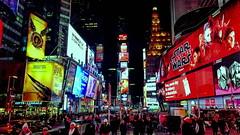 New York, New York (ArmyJacket) Tags: nyc newyork timessquare city cityscape skyline night lights urban travel tourist landmark broadway 42ndstreet starwars