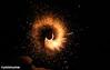 Christmas Eve Fireworks (rumimume) Tags: potd rumimume 2017 niagara ontario canada photo canon night light fireworks fire spark christmaseve black winter