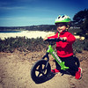 1002 (StriderBikes) Tags: 12 2017 beach boy ethnicity excited green helmet jeans longsleeve ocean october photocontestentry proud smile sport striding water carmelbythesea california unitedstates us