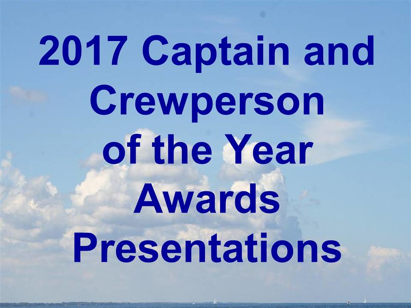 2017 MWS Captain and Crewperson of the Year
