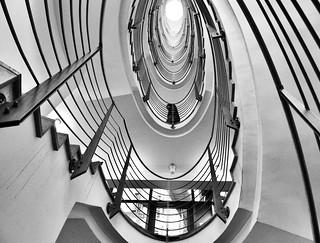 The Eye-seven floors up (explored)